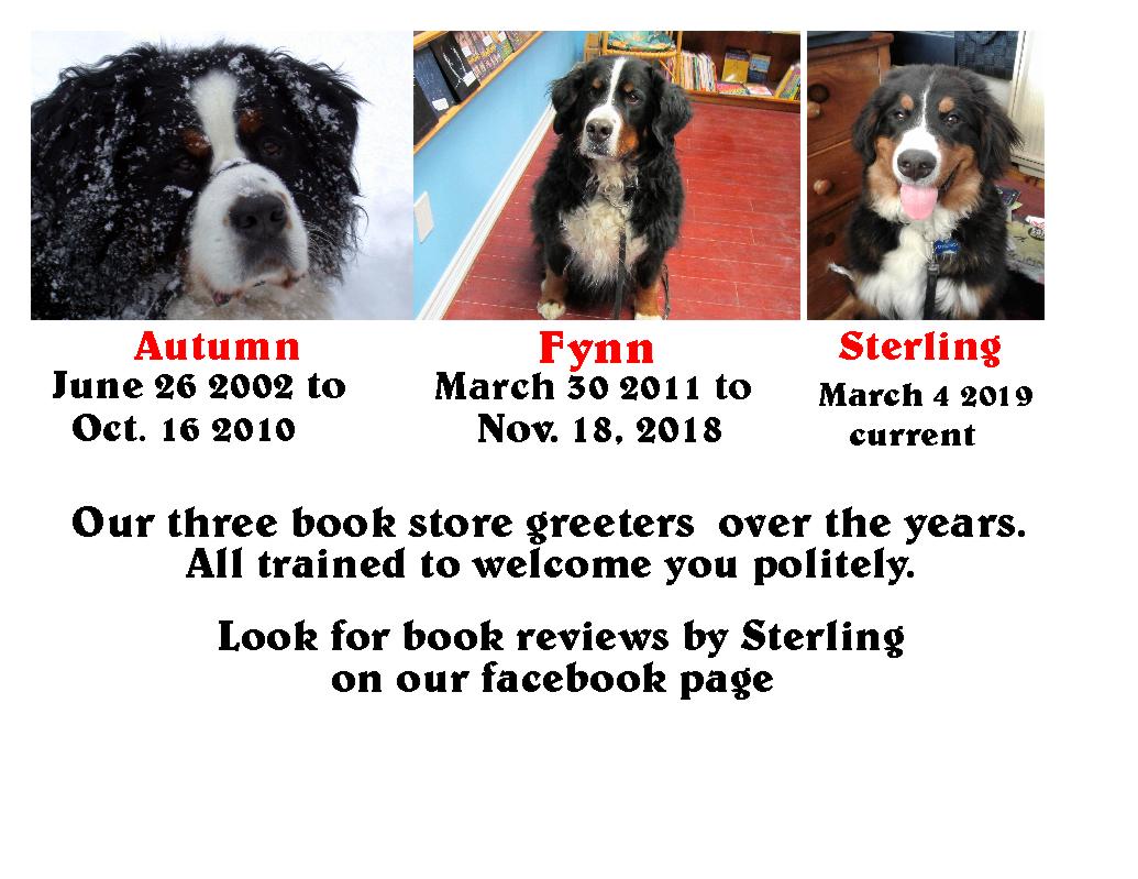 https://www.forstersbookgarden.ca/i/7600178/greeter_dogs.JPG